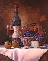Wine & Grape I Fine Art Print