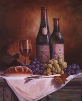 Wine & Grape II Fine Art Print