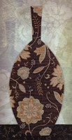 Paisley Vase II Fine Art Print