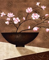 Cherry Blossom in Bowl Fine Art Print