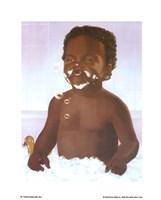 Bubble Bath Boy Fine Art Print