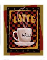 Latte Delicieux Fine Art Print