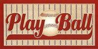 Play Ball Fine Art Print