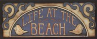 Life At the Beach Framed Print