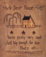 Dear House Fine Art Print