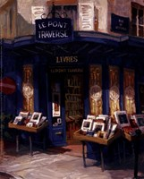 Bookworm Bonanza, Paris Fine Art Print