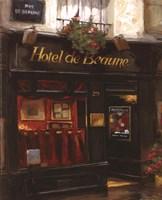 Red Interiors, Paris Framed Print