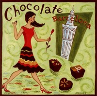Spanish Chocolate Fine Art Print
