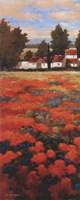 Tejados Rojos I Framed Print