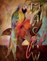 Macaw Cafe Fine Art Print