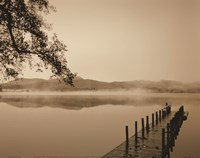Serenity Dock Framed Print
