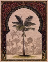 Moorish Palms I Framed Print