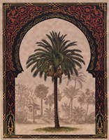 Moorish Palms II Framed Print