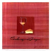 Wine & Cheese IV Framed Print