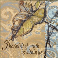 Spirit Of Truth Fine Art Print