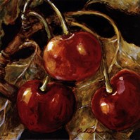 Sweet Cherries I Fine Art Print