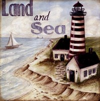 Land And Sea Fine Art Print