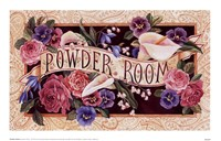 Powder Room Framed Print