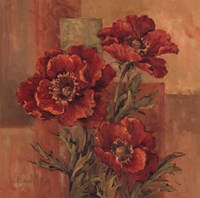 Poppies Terra Cotta Fine Art Print