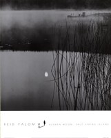 Sunken Moon, Salt Spring Island Framed Print