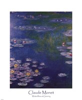 Waterlilies at Giverny Fine Art Print