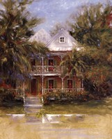 Keywest Cottage I Fine Art Print