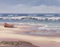 Sandpiper March II Fine Art Print