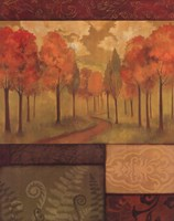 Autumn Tapestry I Fine Art Print