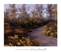 Step Into Autumn Fine Art Print