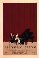 Le Pianola Fine Art Print