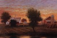 Midwest Farm Pond Fine Art Print