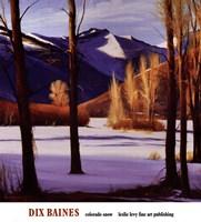 Colorado Snow Fine Art Print