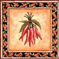 Chiles II Framed Print