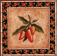 Chiles III Framed Print
