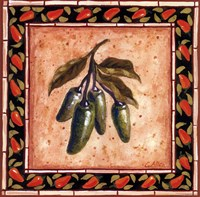 Chiles IV Framed Print