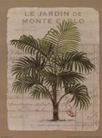 Le Jardin de Monte Carlo Fine Art Print