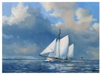 Majestic Sails Fine Art Print
