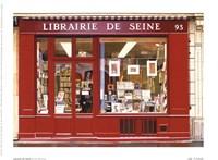 Librairie De Seine Framed Print