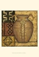African Earthenware I Fine Art Print