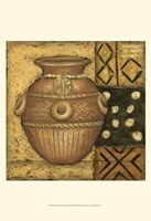 African Earthenware II Fine Art Print