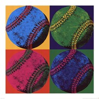 Ball Four - Baseball Fine Art Print