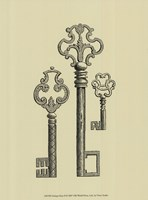 Antique Keys II Fine Art Print