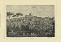 Piranesi View Of Rome I Framed Print