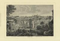 Piranesi View Of Rome II Framed Print