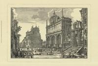 Piranesi View Of Rome III Fine Art Print