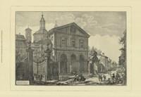 Piranesi View Of Rome IV Framed Print