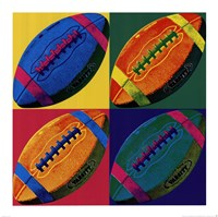 Ball Four - Football Fine Art Print