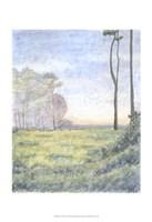 Tranquil Horizon I Fine Art Print