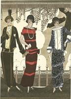 Art Deco Elegance II Fine Art Print