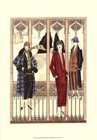 Art Deco Elegance III Fine Art Print